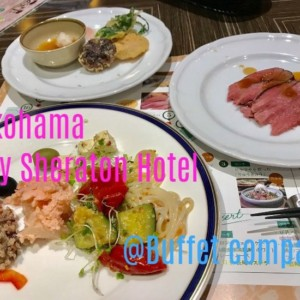 【横浜ベイシェラトン】ブッフェレストラン「コンパス」で台湾大学CLDの同級生と再会する