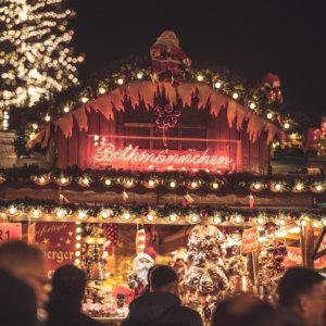 【横浜赤レンガ倉庫】クリスマスマーケットでドイツのクリスマスグルメを満喫!